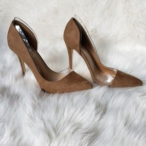 Shoe Dazzle Tan Heels, Ladies Shoes, Cute Heels